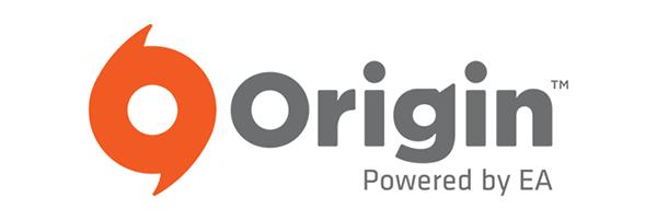 Origin powered by EA logo