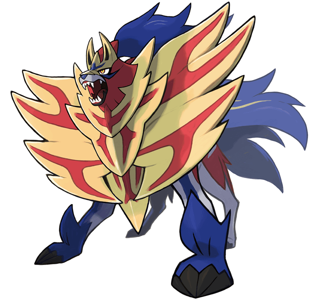 Pokemon Shield ZAMAZENTA