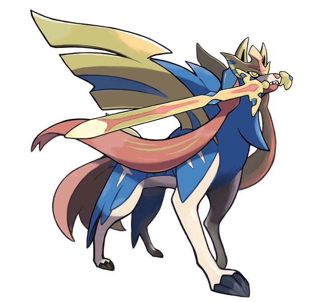 Pokemon Sword ZACIAN