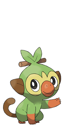 Grookey grass pokemon