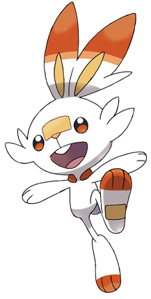Scorbunny fire pokemon