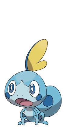 Sobble water pokemon