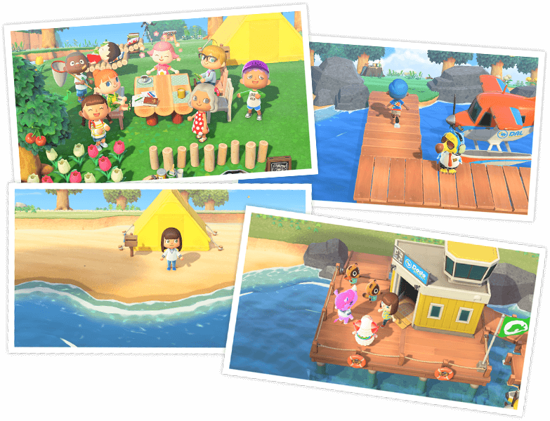 Animal Crossing New Horizons sociaal