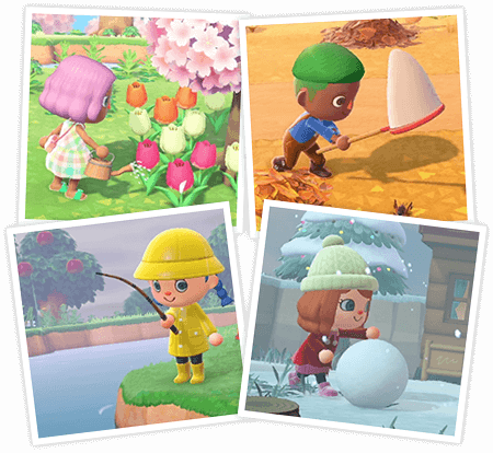 Animal Crossing New Horizons Seizoenen