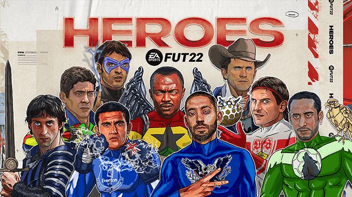 FUT FIFA22 heroes