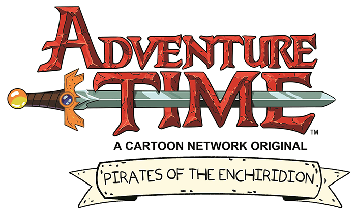 Adventure time game logo