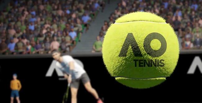 AO tennis bal