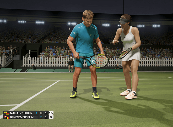 Playable AO Tennis Characters