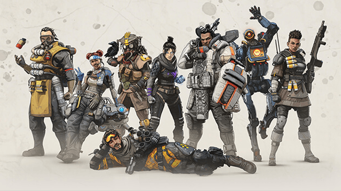 Apex legends speelbare karakters