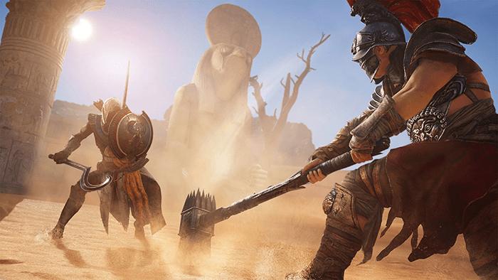 Assassins Creed Origin fight