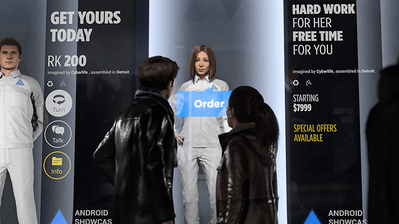 Detroit Become Human android store