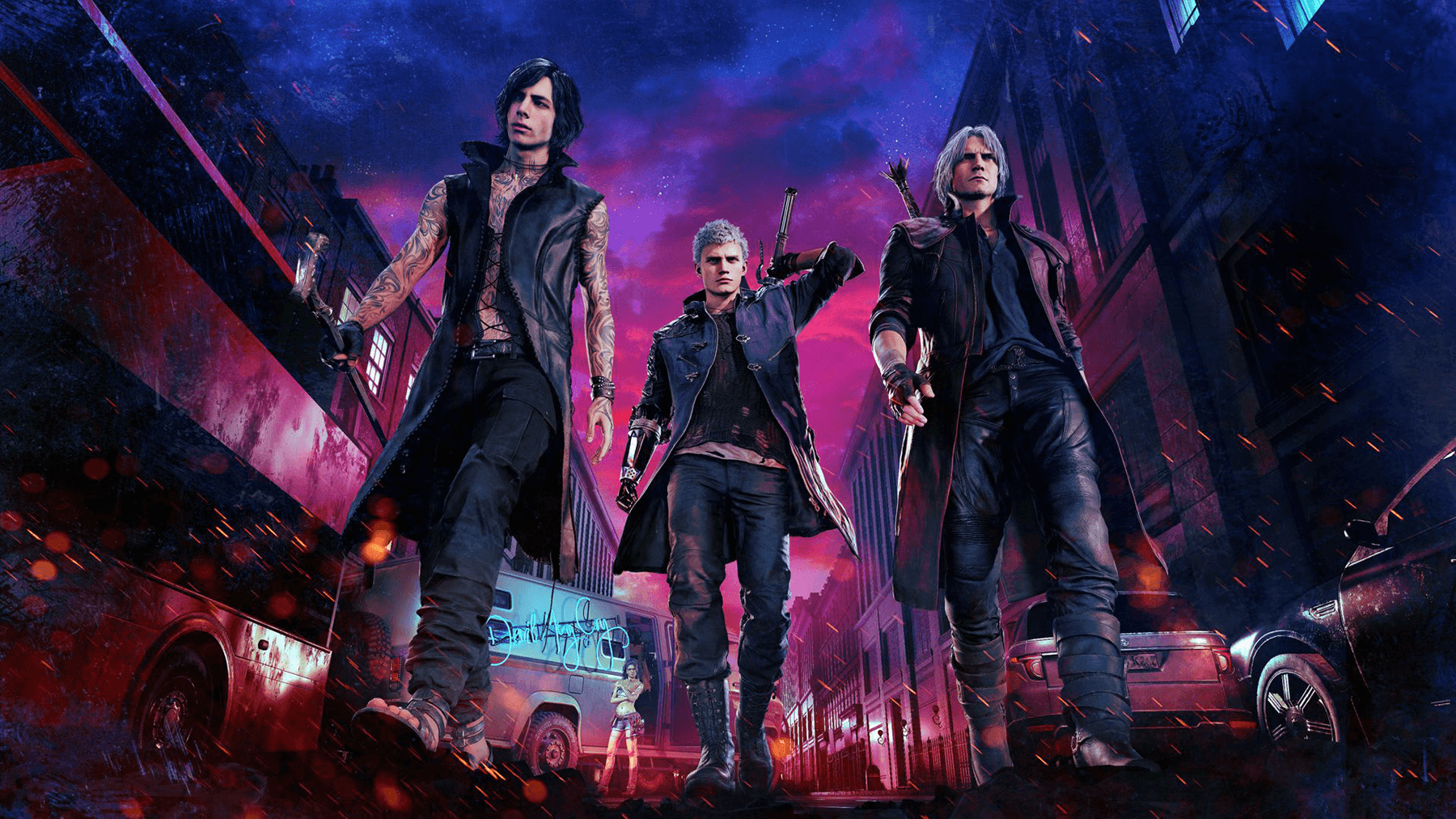 Devil May Cry 5 karakters