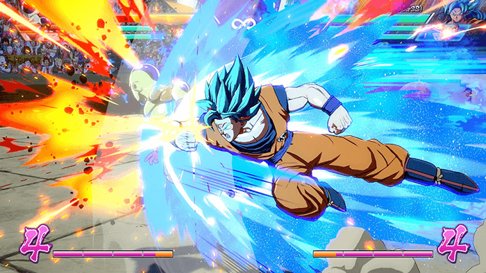 Dragon Ball Fighter Z Goku graphics