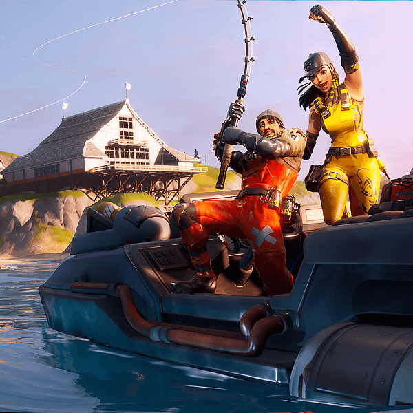 Fortnite chapter 2 fishing