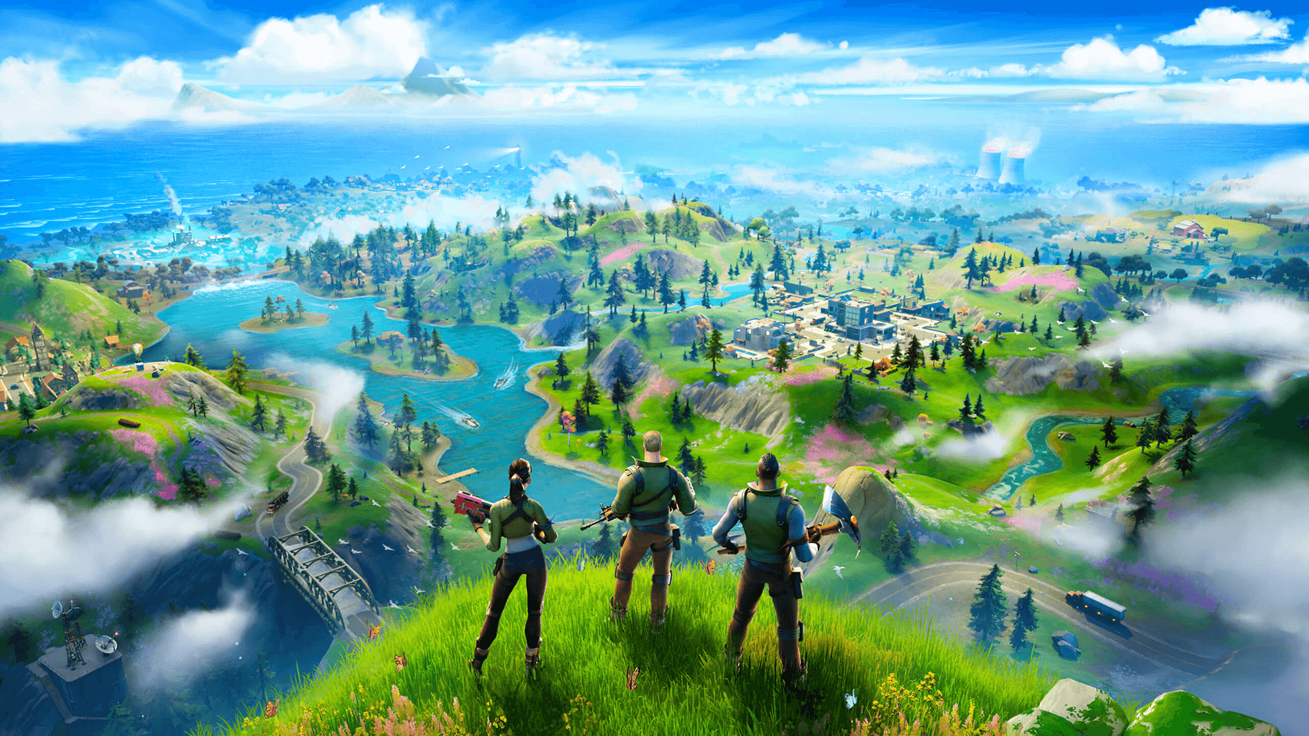 Fortnite chapter 2 new world