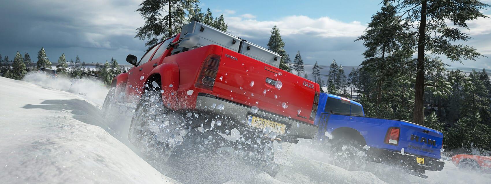 Forza Horizon 4 seizoenen