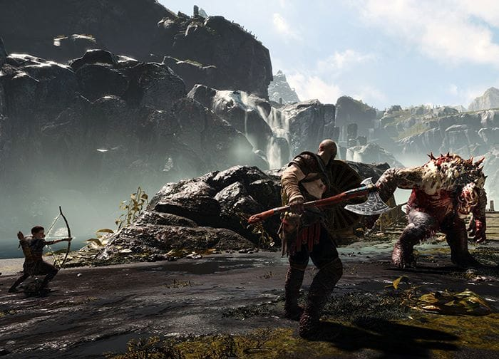 GOW fight