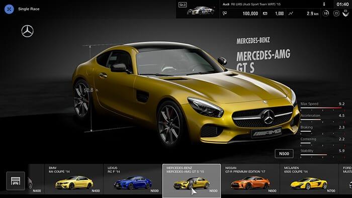 Gran Turismo Sport Mercedes