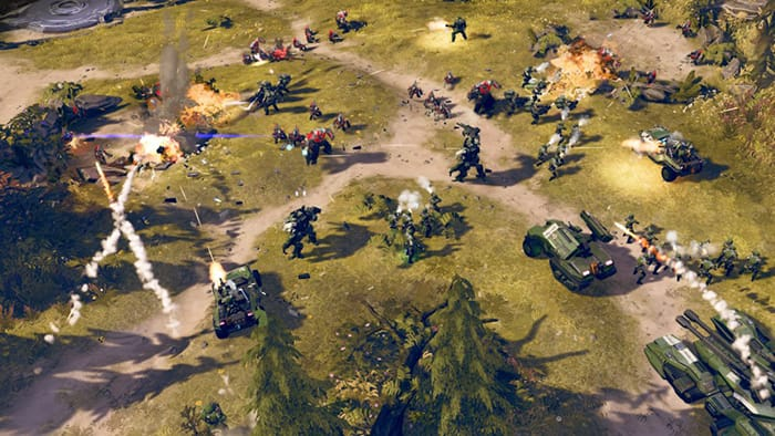 Halo Wars 2, level, build, collect.