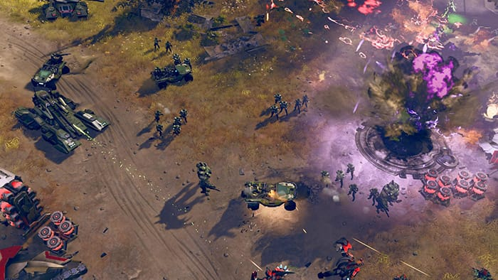 Halo Wars 2 fight strategy game