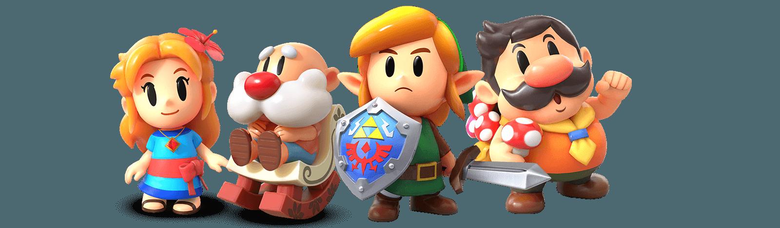 Link's Awakening Karakters