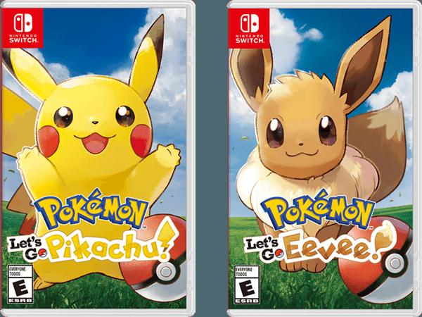 pokémon let's go pikachu en eevee spel