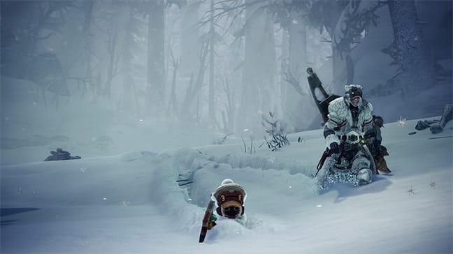 Hoarforst Reach Monster Hunter World
