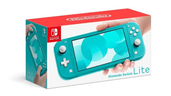 Nintendo Switch Lite turquoise blue version