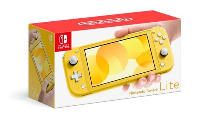 Nintendo Switch Lite Yellow version