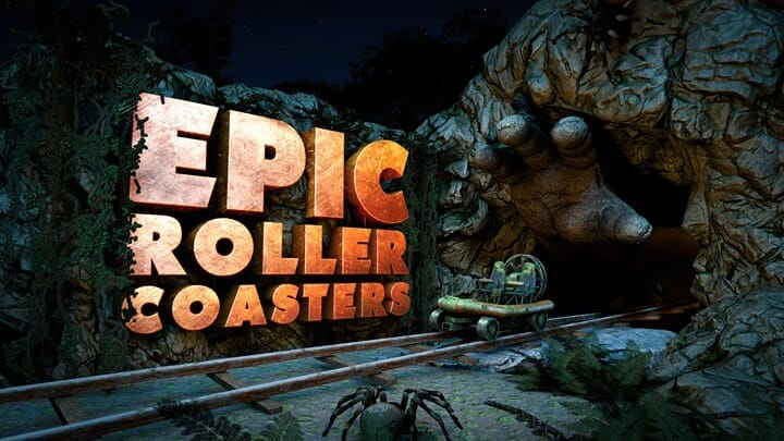 Oculus Epic Roller Coasters