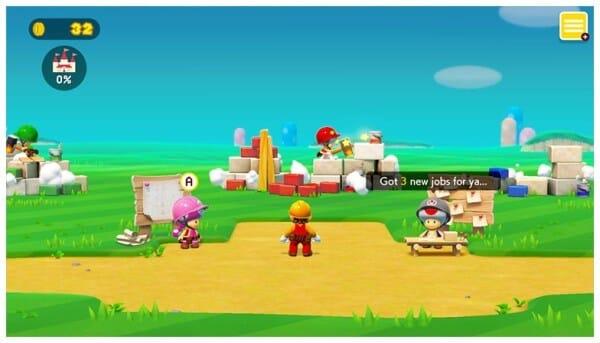 Super Mario Maker 2 story mode