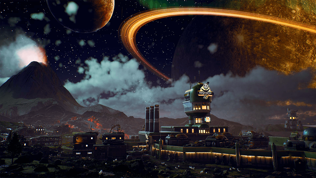 The Outer Worlds wereld