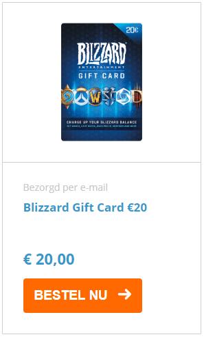Bestel je blizzard gift card nu
