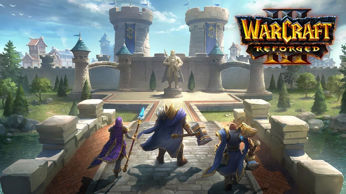 Warcraft 3 reforged by gamecardsdirect