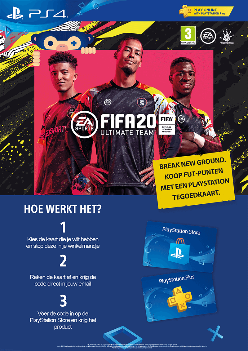 fifa 20 points kopen via playstation
