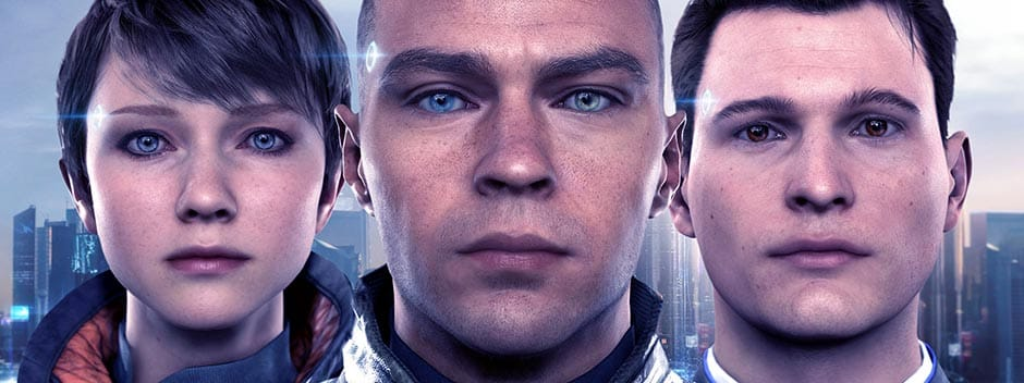 Detroit Become Human three androids