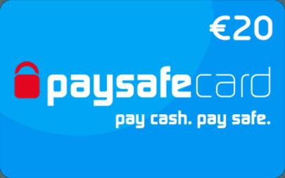 paysafecard classic 20