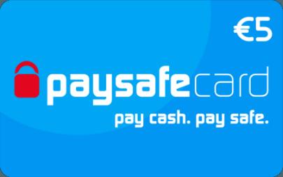 Paysafecard classic 5 euro