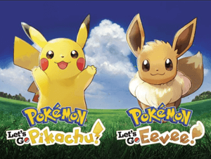 Pokémon: Let's Go Pikachu en Let's Go Eevee
