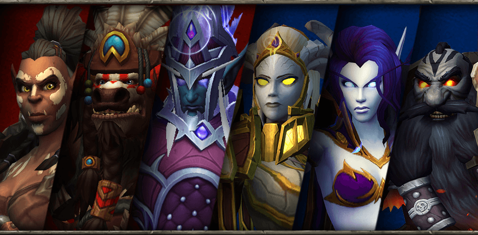 WOW Azeroth characters