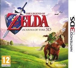 Zelda Ocarina of Time voor 3DS bij Gamecardsdirect.com