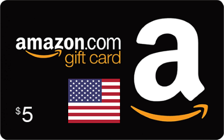 Amazon US Gift Card $5
