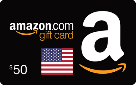 Amazon US Gift Card $50