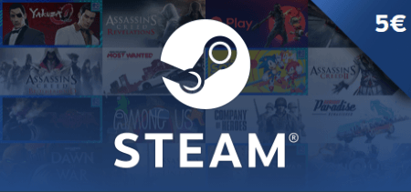 Steam Gift Card €5
