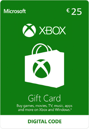Xbox Gift Card €25