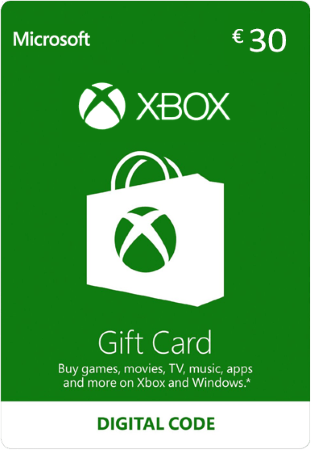 Xbox Gift Card €30