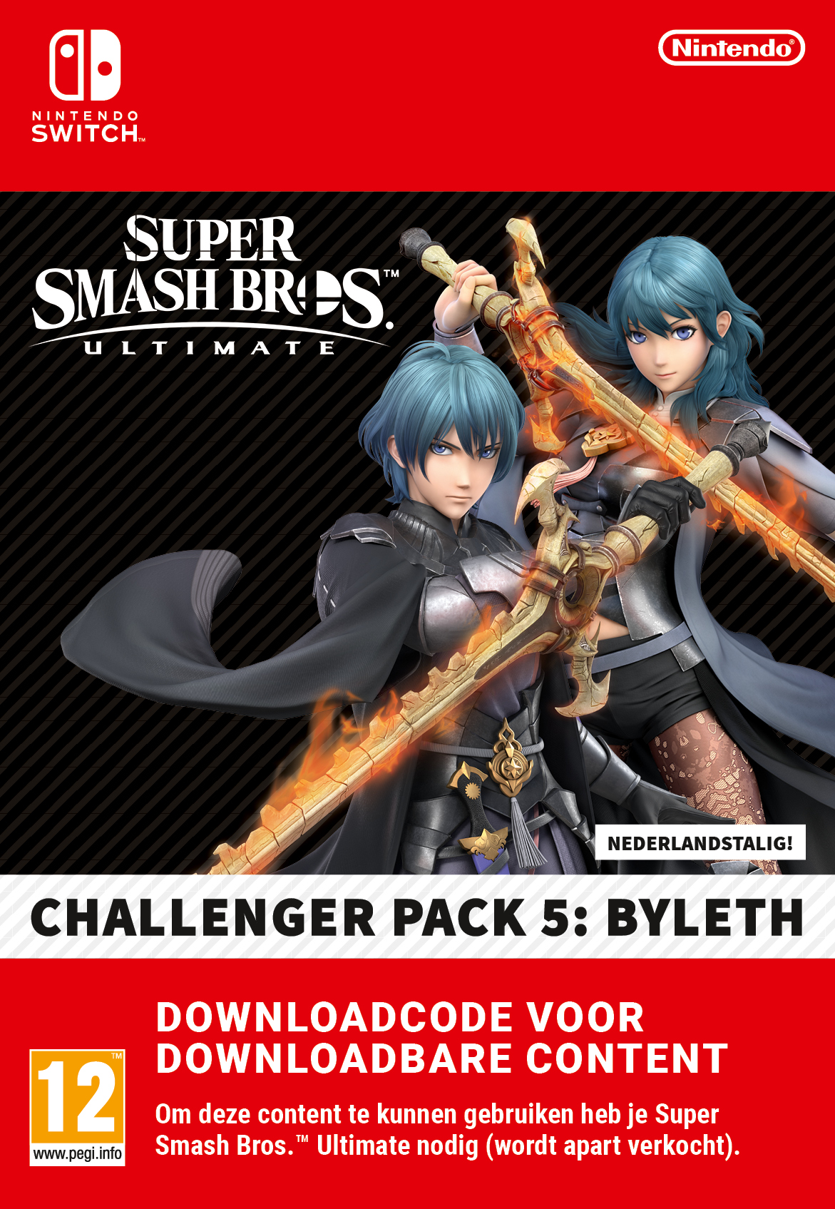 Super Smash Bros. Ultimate: Byleth Challenger Pack 5