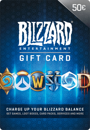 Blizzard Gift Card 50