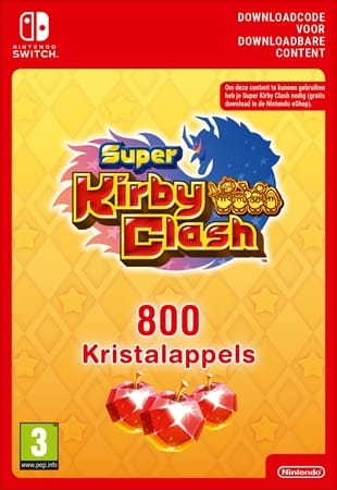 Super Kirby Clash 800 Gem Apples