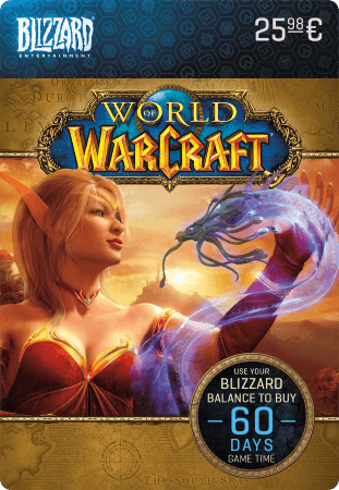 World of Warcraft Timecard 60 dagen